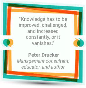 Peter Drucker - Management consultant, educator, and author