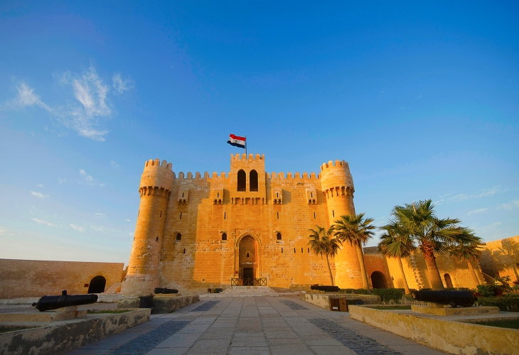 Citadel-Qaitbay-Eastern-Harbour-Alexandria-Egypt