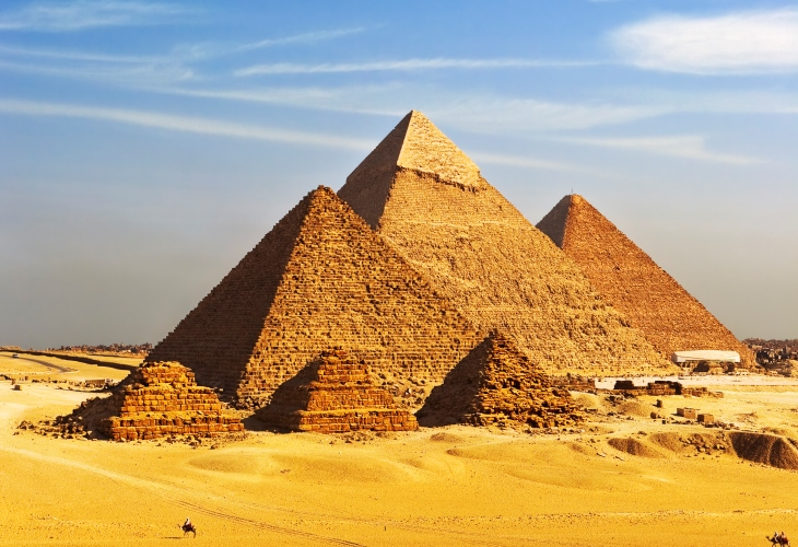 Egypt-Pyramid-Giza-Cairo-Middle East-Capital Cities