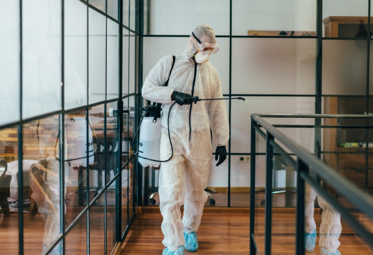 Office-disinfection-COVID-19-pandemic